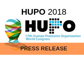HUPO 2018 Press Release