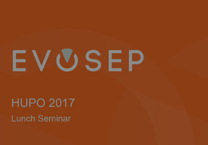 HUPO 2017 lunch seminar on clinical proteomics